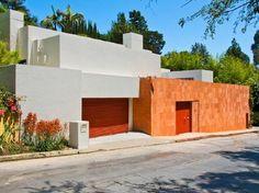 Campbell Divertimento House. Luis Barragan & Raul Ferrera. Beverly Crest neighborhood, LA. 1987. Limpieza y modernidad sello Legorreta
