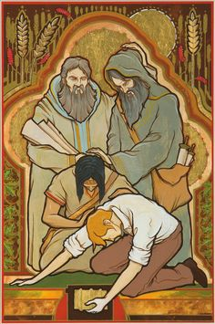 Faith-based work depicting doctrinal themes from The Church of Jesus Christ of Latter-day Saints Book Of Mormon Stories, Spiritual Church, Christian Artwork, Lds Art, Doctrine And Covenants, Lds Church, Church Ideas, Church History, Latter Day Saints