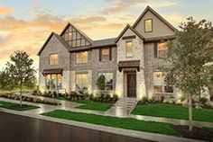 Viridian: Arlington, TX CB JENI Lifestyle Homes Townhome Series Model Home From the 210s