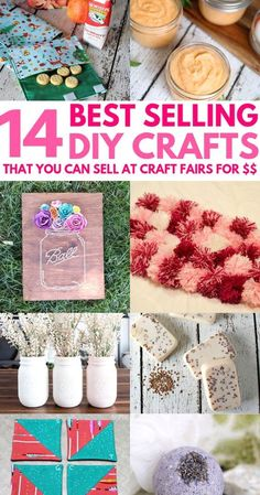 14 Awesome DIY Crafts That Sell Well At Craft Fairs and On Etsy! These fast & ea… 14 Awesome DIY Crafts That Sell Well At Craft Fairs and On Etsy! These fast & easy to make handmade project ideas can… Continue Reading → Money Making Crafts, Easy Crafts To Sell, Diy Crafts For Teens, Diy And Crafts, Simple Crafts, Kids Diy, Decor Crafts, Make To Sell, Craft Ideas To Sell Handmade