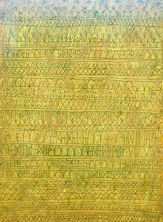 Paul Klee. Pastorale (Rhythms). 1927. MoMA, NYC |