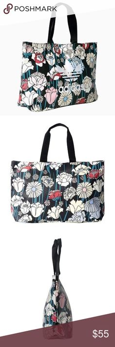 Adidas Floral Shopper Bag Brand new. Never used! Was purchased but never used. Tags have been removed. Reasonable offers accepted. NO TRADES. adidas Bags Totes