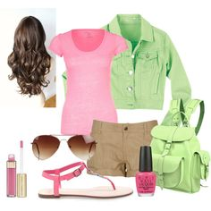 """Casual"" by a-alej on Polyvore"