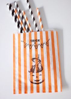 Halloween Treat Bags #Halloween #treat bags #halloween party