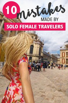 If you are taking your first solo adventure abroad, there are a few easy mistakes you can make that can cause an inconvenience or even ruin your journey.It's always important to plan ahead and avoid the simple faults that can get in the way of first-time solo female travelers having the experience of their life. These oversights vary across several different areas of travel, but are completely avoidable- by being prepared and aware!