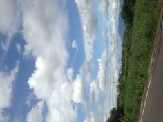 藍天,白雲。