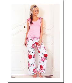 Bloom Pant $69.95              100% cotton PJ pants with elastic waist back and satin ribbon tie at front.