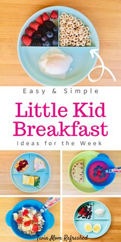 Need easy toddler breakfast meal ideas? This list of healthy, quick, and easy to… Need easy toddler breakfast meal ideas? This list of healthy, quick, and easy toddler breakfast meal ideas that will provide a lot of nutrition to your kid! Healthy Toddler Breakfast, Healthy Toddler Meals, Toddler Snacks, Quick And Easy Breakfast, Breakfast For Kids, Healthy Breakfast Recipes, Kids Meals, Toddler Dinners, Kids Meal Ideas