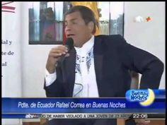 Rafael Correa destroza argumentos de periodista sobre Libertad de Prensa
