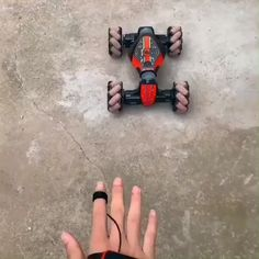 Mecanum Wheel:This omnidirectional movement is based on the principle of a central wheel with a number of axles located around the wheel that converts part of the wheel steering force to a wheel normal force. Bmw 327, Diy Auto, Gifts For Hubby, Outdoor Kitchen Bars, Remote Control Cars, Toys For Boys, Kids Toys, Stunts, Shopping