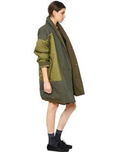 Patchwork coat by Isabel Marant Etoile - LUISAVIAROMA