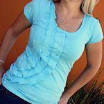 Refashion Plain T-Shirts Into Something Pretty {18 Tutorials}