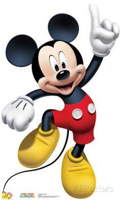 Mickey Dance Cardboard Cutouts at AllPosters.com