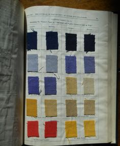 Journal of the Society of Dyers and Colourists, vol. 7, no. 6 (June 1891) #dyesamples