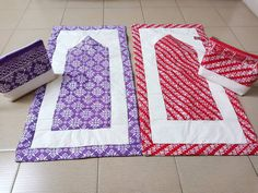 Muslim Prayer Mat, Ramadan Decorations, Muslim Quotes, Diy Pillows, Modest Outfits, Prayers, Quilting, Printables, Sewing