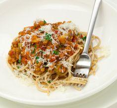 Vitamix recipe: Healthy Spaghetti Bolognaise (for when I get my Vitamix... hopefully soon lol)