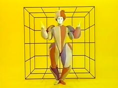 Shots from the 1970 performance of Oskar Schlemmer's 1922 Triadic Ballet (see yesterday's post). Such great stuff. I mean just the fact that someone created this.