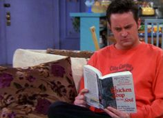 Five great bookish moments from FRIENDS
