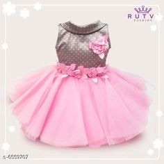 Frocks & Dresses Little Princess Special Girl's Frocks  Fabric: Cotton Sleeve Length: Sleeveless Pattern: Embroidered Multipack: Single Sizes: Free Size (Bust Size: 10.5 in Length Size: 101 in) Country of Origin: India Sizes Available: 2-3 Years, 3-4 Years, 6-12 Months, 12-18 Months, 0-1 Years, 1-2 Years *Proof of Safe Delivery! Click to know on Safety Standards of Delivery Partners- https://ltl.sh/y_nZrAV3  Catalog Rating: ★4.3 (13083)  Catalog Name: Modern Comfy Girls Frocks & Dresses CatalogID_1045093 C62-SC1141 Code: 135-6559707-