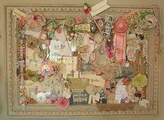 Vintage & Shabby Treasures Inspiration Board