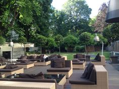 Bulgari Hotels & Resorts Milano in Milano, Nice location for drinks, brunch or aperitif (especially the garden outside)