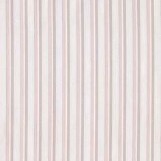 Norbury Stripe - Dove/Pink - Stripes - Fabric - Products - Ralph Lauren Home - RalphLaurenHome.com