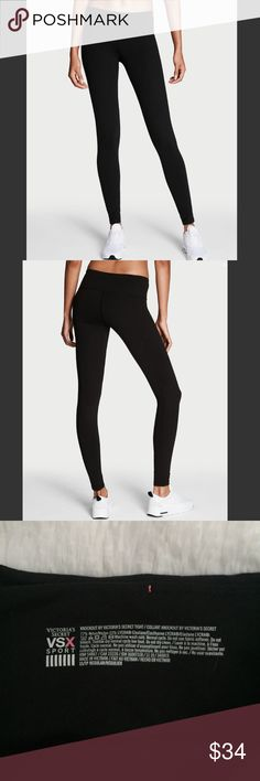 Victoria's Secret Black Knockout Pants (Regular) Victoria's Secret Knockout Pants. My favorite workout pants ever! I have a pair in size S and wear them all the time, they are great quality! This is a size XS/Regular, like new without tags. PINK Victoria's Secret Pants Track Pants & Joggers