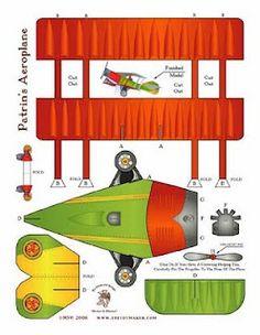 Airplane Party :: printable plane favor, decoration