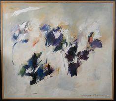 Charlotte Molenkamp: Olieverf op doek, Denkbeeldig landschap (Zeer groot)