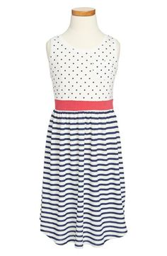 Roxy 'Have Fun' Tank Dress (Big Girls) available at #Nordstrom