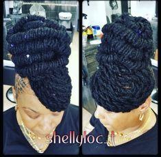 2019 best dreadlocks styles #wylocks #dreadskenya#womenwithlocs Faux Locs Styles, Dreadlock Styles, Dreads Styles, Dreadlock Hairstyles, African Hairstyles, Braided Hairstyles, Hair Game, Natural Styles, Hair Health