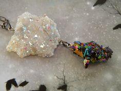Angels and Rainbows // Angel Aura Opal by JasmineDragonStudio