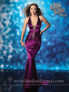 Astra Formal - Kiss Kiss 3597   4 Teal   6 Purple Mary's Bridal, Teal, Purple, Black Tie, Mermaid, Gowns, Formal Dresses, Lady, Kiss