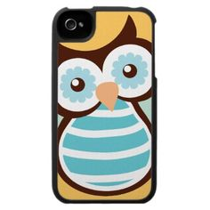 Owl Stuff Store iPhone Case I want this! Owl Phone Cases, Iphone 4 Cases, Phone Covers, Owl Always Love You, My Love, Owl Clothes, Shoe Poster, Cute Owl, Gadgets And Gizmos
