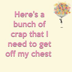Here's a bunch of crap that I need to get off my chest http://www.theautismdad.com/2016/02/13/heres-a-bunch-of-crap-that-i-need-to-get-off-my-chest/  PLEASE LIKE AND SHARE   #Autism #Family #SPD #SpecialNeedsParenting #Aspergers #Parenting #Sensory #ADHD #Awareness #AutsimAwareness #RobGorski #TheAutismDad #AutismDad #Divorce #SingleParenting #AutismParenting