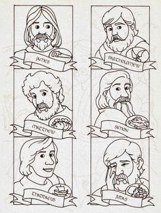 11 beste afbeeldingen van 12 discipelen (12 apostles