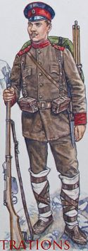Early war bulgarian infantry
