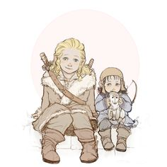 Little Fili and Kili by marple0526