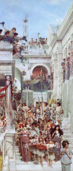 Sir Lawrence Alma-Tadema - Spring
