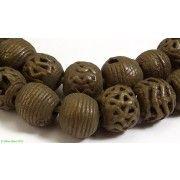 Akan Brass Trade Beads Round Ghana African ...