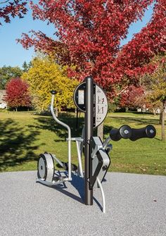 NEW! HealthBeat® Elliptical - Outdoor Cross Trainer Exercise Equipment