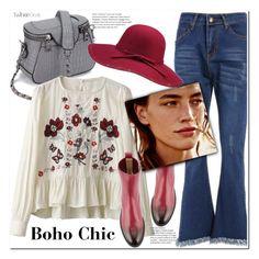 Boho style by duma-duma on Polyvore featuring polyvore, fashion, style, Salvatore Ferragamo and clothing