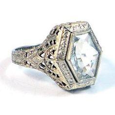 Amazing vintage rings here. by ella