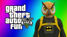 GTA 5 Online Funny Moments - Halloween Preparation, Batman, Dark Knight ...
