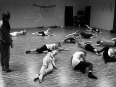 "Modern Dance - first ""Modern Kids' lesson - YouTube"