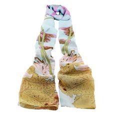 Schönen Warme Druckfähigen Lange Schal für Damen Neuste 2014 Designer Herbst…