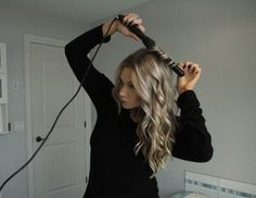 NuMe Wand hair tutorial by Angela Price