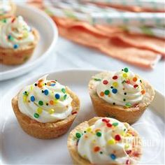 Funfetti Celebration Cookie Cups from Pillsbury® Baking