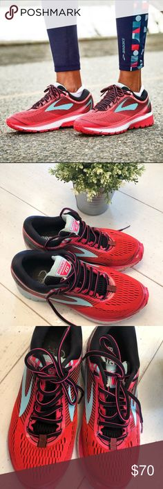 e72756697ed86 BROOKS GHOST 10 running shoes size 9.5 Excellent used condition Brooks  Ghost 10 running show size