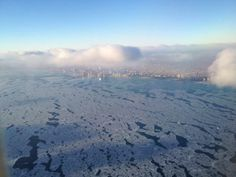 Great Lakes ice is most extensive since mid 90s. Here's a beautiful pic of ice from this morn: http://www.climate.gov/news-features/event-tracker/great-lakes-ice-cover-most-extensive-mid-90s